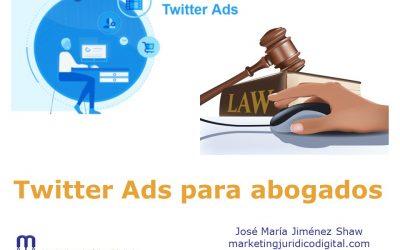 Twitter Ads para abogados