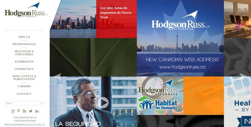 mejores webs abogados Hodgson Russ