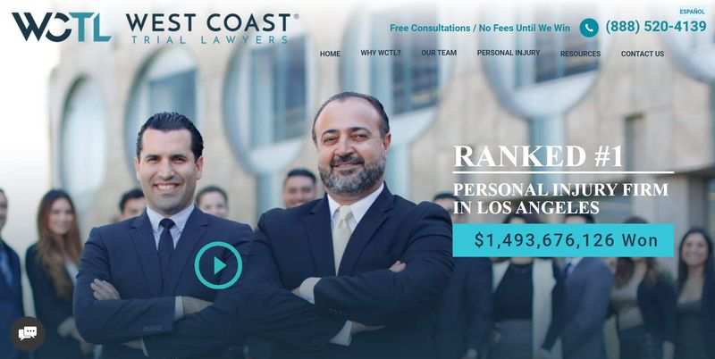 mejores webs abogados West Coast Trial Lawyers